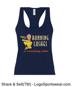 Running Lushes Women's tank (non-wicking) Design Zoom
