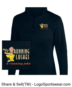 Running Lushes Quarter Zip Design Zoom
